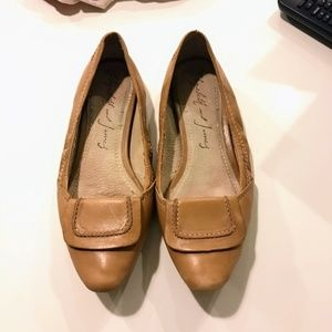 Elizabeth and James Leather Ballet Flats
